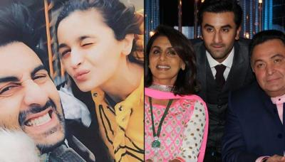 Alia Bhatt Visiting Ranbir Kapoor's Dad Rishi Kapoor In The US Proves How Much She Cares For Kapoors