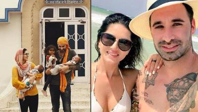 Sunny Leone's Husband Daniel Weber Gets Their Children, Nisha, Asher And Noah's Name Tattooed