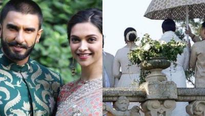 Deepika Padukone And Ranveer Singh's First Picture As Bride And Groom, Look Ethereal In White