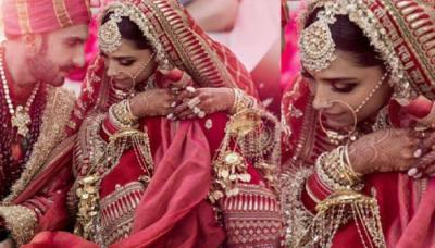 Deepika Padukone's Bridal Lehenga Cost Revealed, It's Not At All Expensive Being A Sabyasachi Outfit