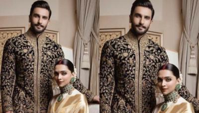 Deepika Padukone And Ranveer Singh's First Look From Their Bengaluru Reception, Looking Like Royals