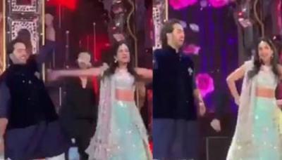Anant Ambani Performs With Alleged GF Radhika Merchant On 'Koi Mil Gaya' At Isha Ambani's Sangeet