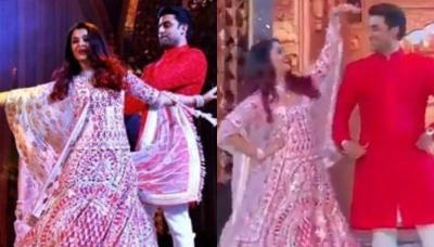Aishwarya Rai And Abhishek Bachchan Dance On 'Tere Bina' At Isha Ambani's Sangeet [Video Inside]