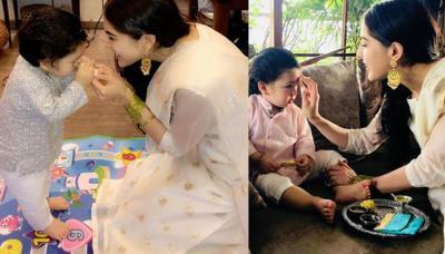 Sara Ali Khan Reveals What Raksha Bandhan Gift Half-Brother Taimur Ali Khan Gave To Her This Year