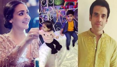 Check Out What Happened When 'Kya Dil Ne Kaha' Co-Stars Esha Deol And Tusshar Kapoor's Kids Met
