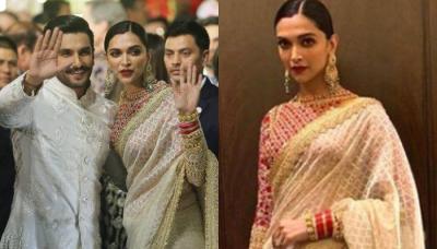 Deepika Padukone Twins With Ranveer Singh At Isha Ambani's Wedding, Her Chooda-Sindoor Is Unmissable