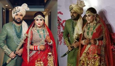 Kapil Sharma Gets Married To Ginni Chatrath In A Punjabi Wedding, Shares First Pic As Married Couple