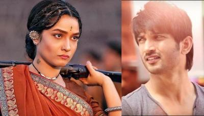 Ankita Lokhande Replies To Sushant Singh Rajput Wishing Her On Her Bollywood Debut In Manikarnika