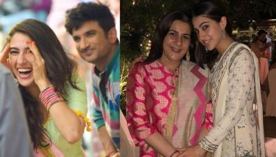 Sara Ali Khan Talks About Her Mom Amrita Singh's Reaction After Watching Kedarnath Climax