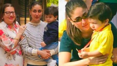 Taimur Ali Khan Spends Quality Time With Mom Kareena Kapoor And Naani Babita Before His 2nd Birthday