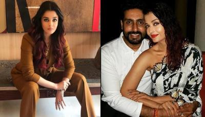 Abhishek Bachchan Leaves A 'Steaming Compliment' On Wife Aishwarya Rai Bachchan's Magazine Cover Pic