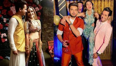 Chloe Ferns Sangeet And Mehendi Celebrations, Television Celebs Rock The Night [Pictures Inside]
