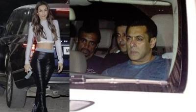 Salman Khan, Malaika Arora Attend Sohail Khan's Son Nirvaan's Birthday Bash, Pics Inside