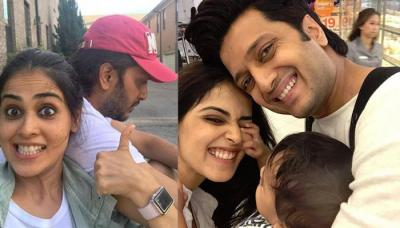 Genelia D'Souza Makes Husband Ritesh Deshmukh's Birthday Extra Special, Check Out How