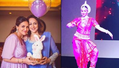 Video: Esha Deol Takhtani Performs Bharatanatyam With Mom Hema Malini, 5 Months Post Her Delivery