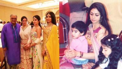 This Throwback Pic Of Sridevi With Janhvi And Khushi Defines Pure 'Maa-Beti' Relationship