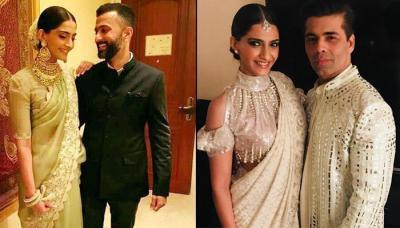 Karan Johar Is Shaking His Leg To This Song On Sonam Kapoor's Wedding