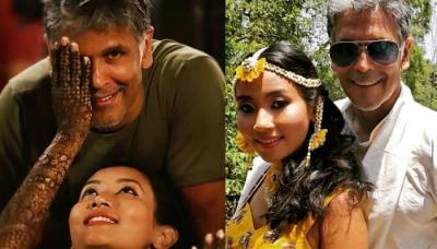 Milind Soman Is Getting Married Today In Alibaug, His Haldi Ceremony Is Going On Right Now
