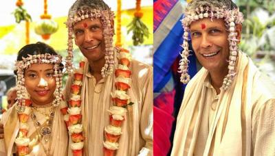 Milind Soman And Ankita Konwar Are Now An Officially Married Couple [Pictures Inside]