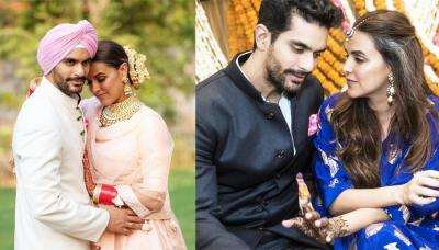 Hubby Angad Bedi Harshly Slams A Troll Who Wrote A Filthy Comment About Wifey Neha Dhupia
