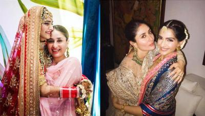 Kareena Played Perfect Bridesmaid To Sonam, Rhea Kapoor Shares Adorable Picture Of The Reel 'Veeres'