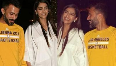 Newly-Weds Sonam Kapoor Ahuja And Anand Ahuja Enjoy First Dinner Date After Wedding, Pics Inside!