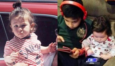 Unseen Picture Of 8-Months-Old Taimur Playing Game On A Tablet Is Every New Age Gadget Freak Kid