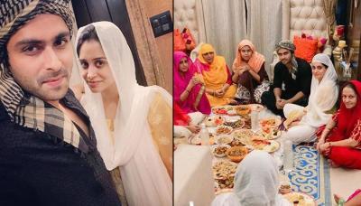Newly-Weds Dipika Kakar And Shoaib Ibrahim Celebrate Their First Ramadan With Family Post-Marriage