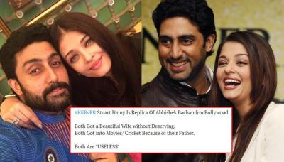 Abhishek Bachchan Trolled For Getting Beautiful Wife And Being 'Useless', Gives A Befitting Reply