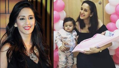 Chahatt Khanna Shares First Family Picture With Her Second Baby Girl, Six-Month-Old Amaira Mirza