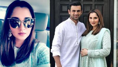 Pregnant Sania Mirza Looks Beautiful In Sea-Green Salwar Suit On Eid; Her Pregnancy Glow Is Evident
