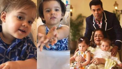 Karan Johar Shared An Adorable Video Of Yash-Roohi Wishing Father's Day To Him In The Cutest Way