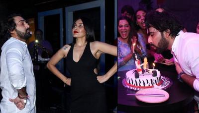 Manveer Gurjar Celebrates Birthday With Alleged GF Kamya Punjabi, Cuts The Most Unusual Adult Cake