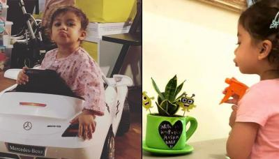 Shahid And Mira's Daughter Misha Has The Perfect Pout, Mommy Mira Wonders Where She Get It From