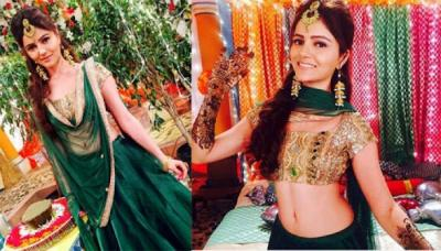 Rubina Dilaik's First Look From Her 'Mehendi' Ceremony Is Here, Her 'Mehendi' Design Is Stunning