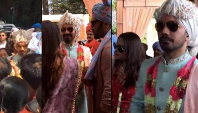 'Dulhe Raja' Abhinav Shukla Arrives With The 'Baraat' To Take His 'Dulhaniya' Rubina Dilaik