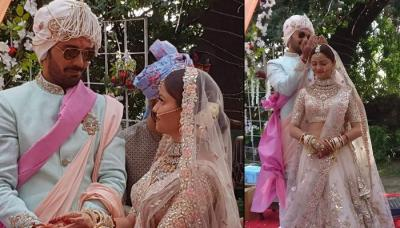 Rubina Dilaik And Abhinav Shukla Take Their 7 Special Vows During Saat Phere And Sindoor Ceremony