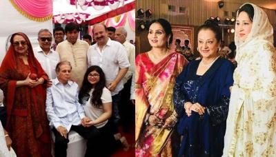 Saira Banu Attends Wedding Without Her Kohinoor Husband Dilip Ar Says She Felt