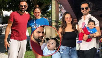 'Mamu' Abhay Deol Shares Pic With Niece Radhya Takhtani, Esha Deol And Bharat Takhtani's Daughter