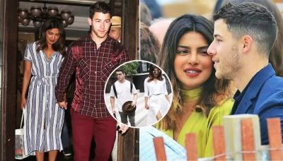 Priyanka Chopra Twins With Alleged Boyfriend Nick Jonas In London On Her 36th Birthday