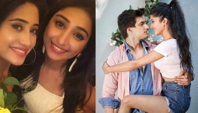 Rumoured TV Couple Shivangi Joshi And Mohsin Khan Twinning On Co-Star Mohena's Birthday Party