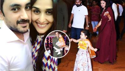 Ziva Dhoni's 'Sneakers Under Lehenga' Look From Poorna Patel's Sangeet Ceremony Is Unmissable