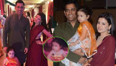 Ziva Dhoni Cutely Dances With Mom Sakshi Singh Dhoni At Poorna Patel's 'Sangeet' [Video]