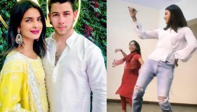 Priyanka Chopra Dances On 'Tuney Maari Entriyaan', Beau Nick Jonas's Reaction Is Amazing!
