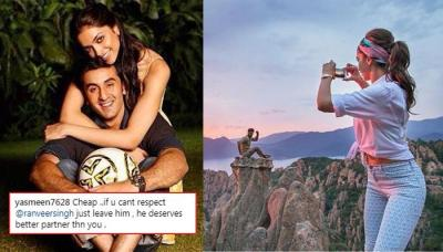 Deepika Padukone Posted A Picture With Ex-BF Ranbir Kapoor, Gets Mercilessly Trolled