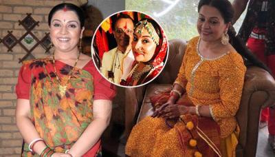 'Baa Bahoo Aur Baby' Actress, Suchita Trivedi Gets Married At 42, Her Bridal Look Inside