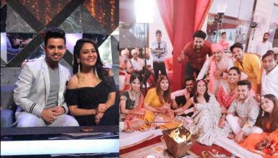 Neha Kakkar Enjoys Friend's Wedding With Rumoured Boyfriend, Vibhor Parashar And Looks Cheerful