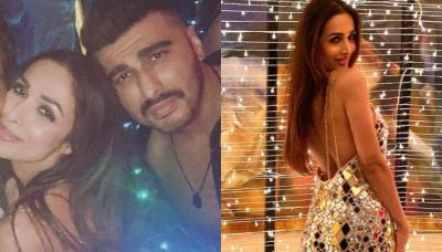 Arjun Kapoor Posts A Picture Kissing GF, Malaika Arora On Her Birthday, His Caption Is All 'Hearts'