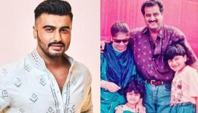 Arjun Kapoor Shares A Rare Picture Of His Parents, Boney Kapoor And Mona Shourie On Children's Day