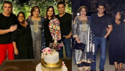 Inside Helen's 'Amazing At 80' Birthday Bash, Salman, Arpita, Aayush, Sohail, Iulia Vantur Attend It